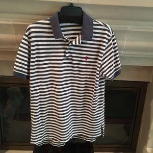 Polo Ralph Lauren Men's Striped Polo Shirt Large